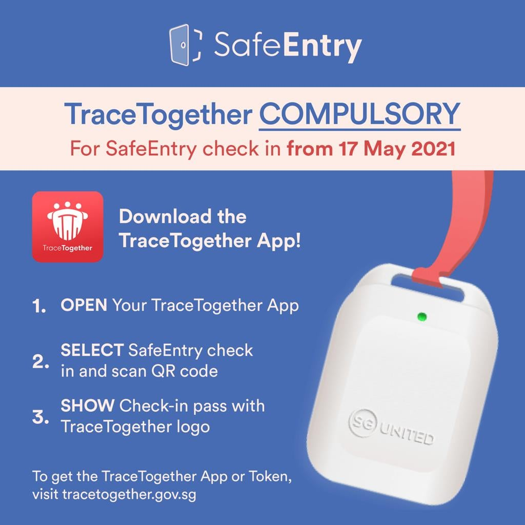 TraceTogether Compulsory